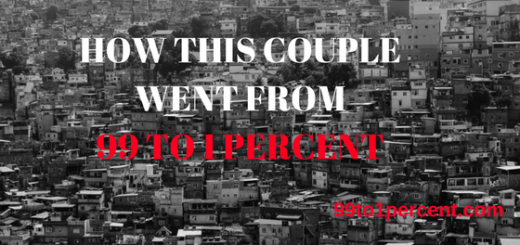 HOW THIS COUPLE WENT FROM 99 TO 1 PFERCENT