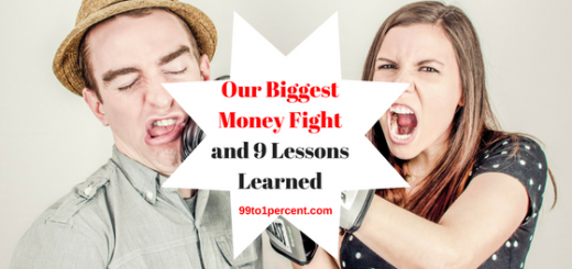 Our Biggest Money Fight and 9 Lessons Learned.