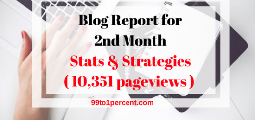 Blog Report for 2nd Month - Stats & Strategies (10,351 pageviews)
