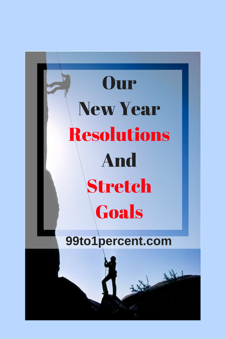 Our New Year Resolutions And Stretch Goals
